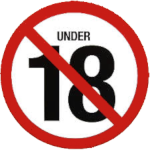 18 age restriction (3) Icon ultrabig by linux-rules