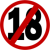 18 age restriction (4) Icon by linux-rules