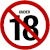 18 age restriction (3) Icon by linux-rules