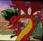 Dragon (Jake Long) 2nd season Icon ultrabig by linux-rules