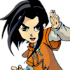 Face Jade Chan (Jackie Chan Adventures) Icon big by linux-rules