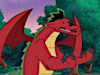 Dragon (Jake Long) 1st season Icon big by linux-rules