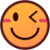 Winking Face (Emojidex) Emote by linux-rules