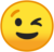 Winking Face (Google) Emote by linux-rules