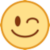 Winking Face (HTC) Emote by linux-rules