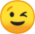 Winking Face (Google) Emote mid by linux-rules