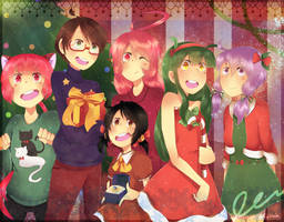 merry christmas 2014! by Rylitah