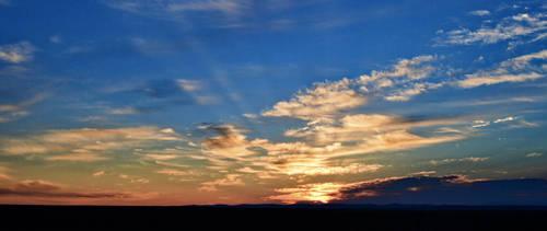 Smokey Sunrise II by Poppies-CO
