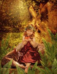 child of the forest by Irina-Ponochevnaya