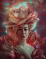 fragrant lotus flower by Irina-Ponochevnaya