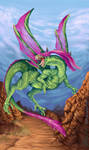 Flygon - Desert beast by Alvoir