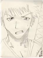 Bleach : Ichigo by Saiyukie