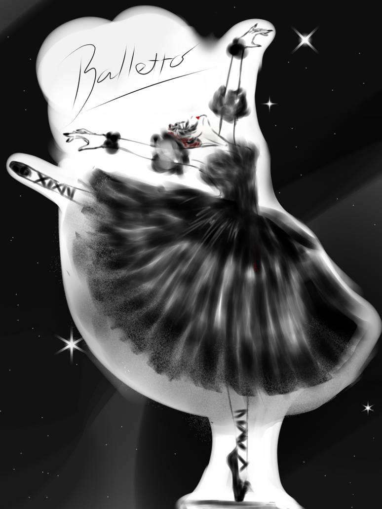 Balletto Danza - Black Swan by ReiyuuMei