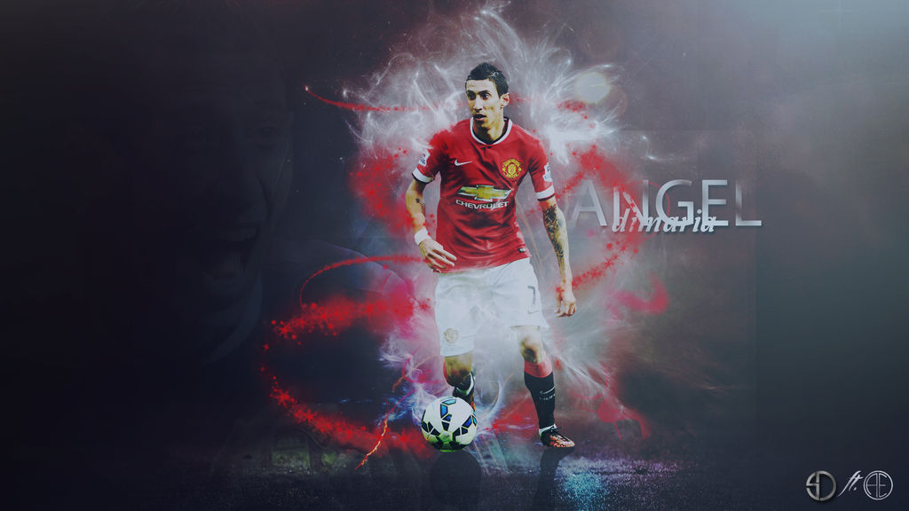 Angel Di Maria Wallpaper Work By Desingsilver On Deviantart