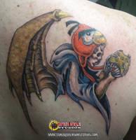 Tattoo 6: Custom Reapers Memorial, Josh by briescha