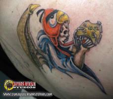 Tattoo 6: Custom Reapers Memorial, Josh Part 2 by briescha