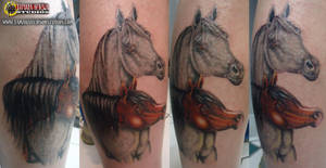 Tattoo 12: Arabian Horses by briescha
