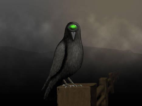 Cyclops Crow by Lareieli