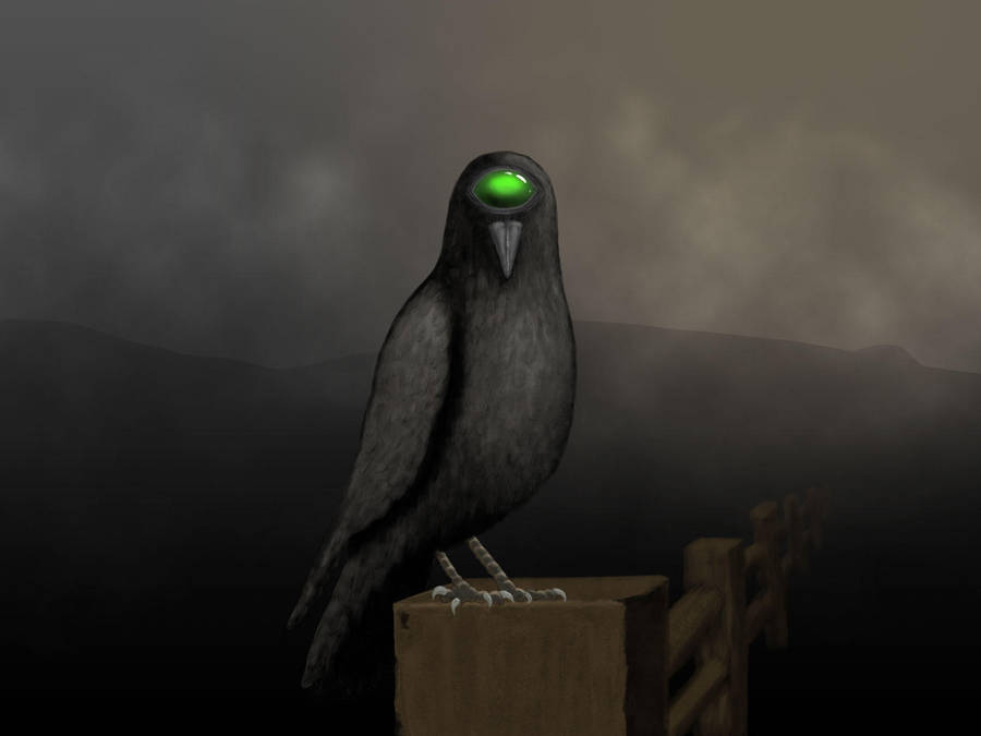 Cyclops Crow by Lareieli