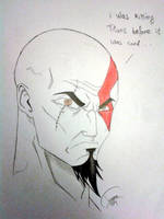 Kratos is jealous... by Prince376