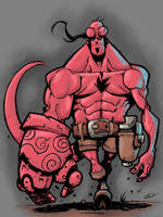 Hellboy by Leonidas666