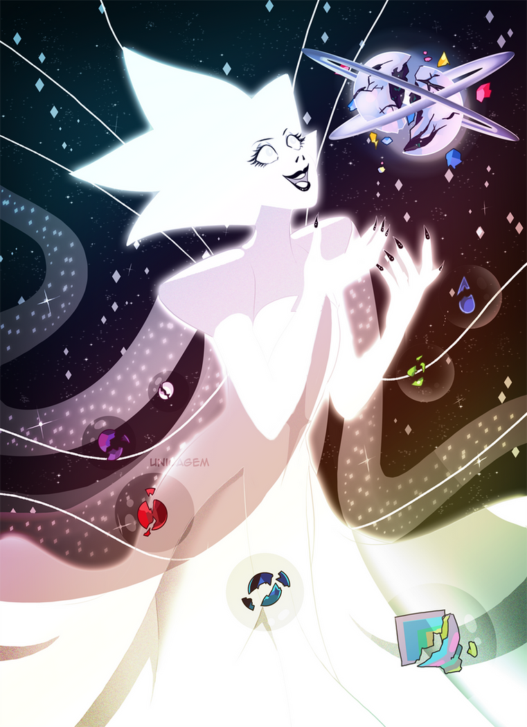 White Diamond by UnicaGem