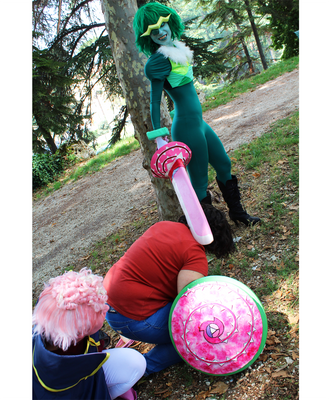 Emerald cosplay - I got you now! by UnicaGem