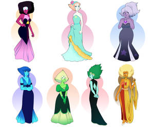 Gems in gowns by UnicaGem