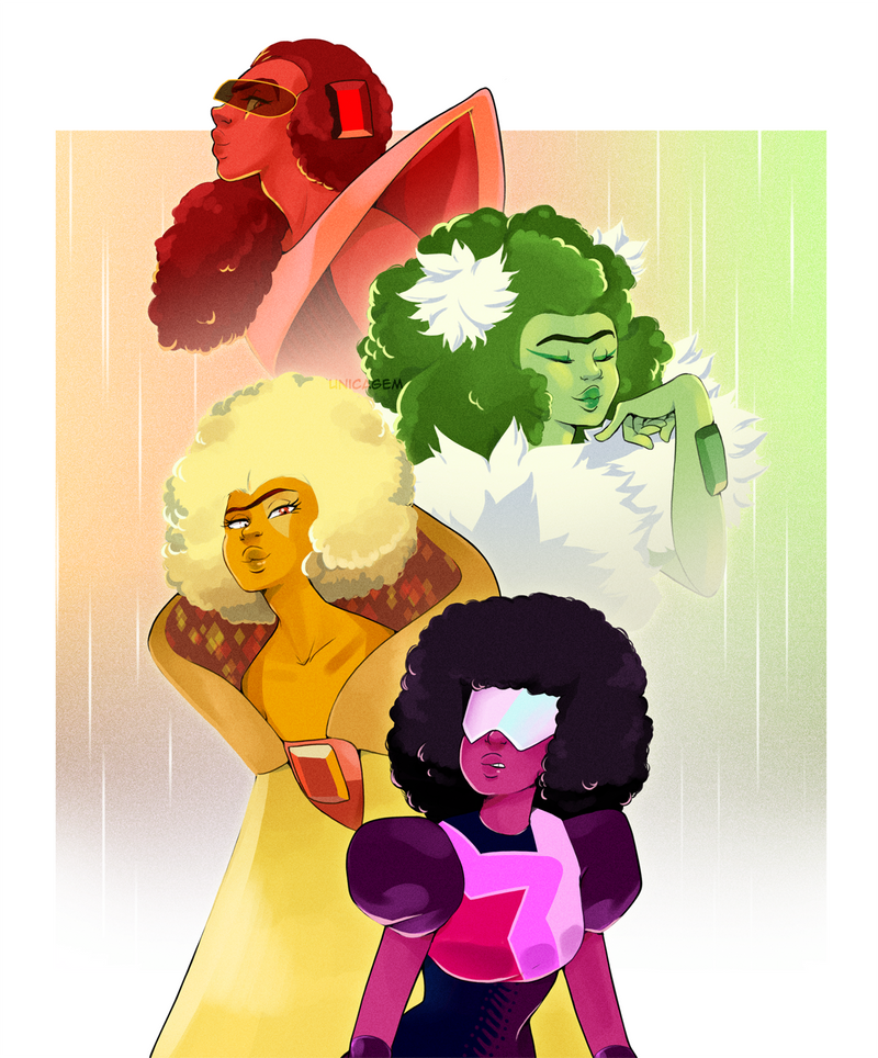 """Garnet? Does that call herself a Garnet? What would you have her do? Enter with the Demantoids, the Hessonites, the Pyropes?"" Yes 😍😍😍 Give me all the Garnets, fusions and s..."