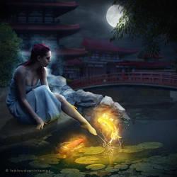 Moon Song by nxlam1801