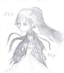 Yasha and Kijo by KitaxHaku