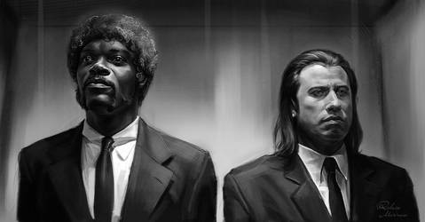 Pulp Fiction by Rembrush