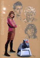 Sarah Jane and The Doctor by Timedancer