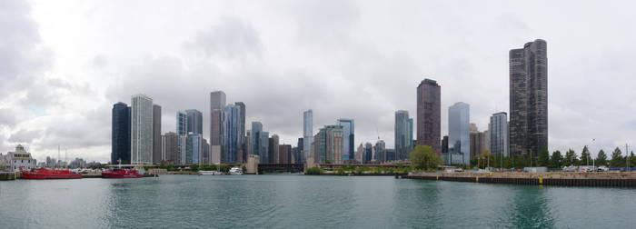Chicago Skyline by dseomn