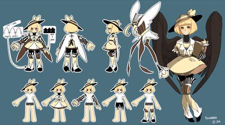 Elsword Aisha's Outfit Design by Remanoir