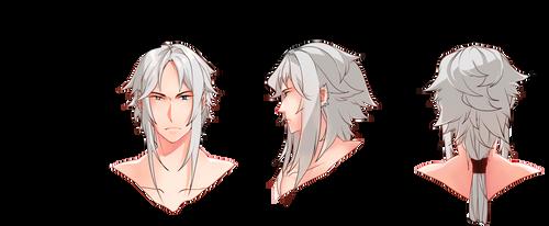 AoH: Yuki's Head by Remanoir