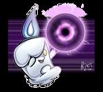 Litwick used Shadow Ball! by pazkit