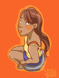 Lookin at chu sketch by Nikkichan333