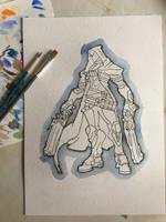 Overwatch - Reaper by Nightfall-Art