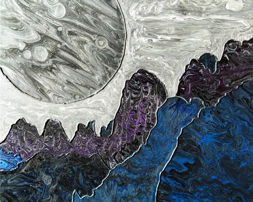 Alien Landscape by OddOtterOut