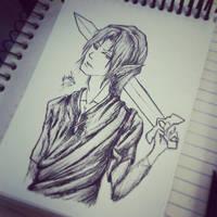 Link Sketch by Zaphy-G