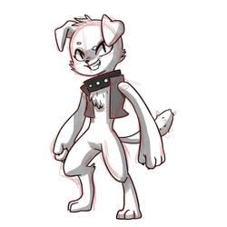 Diamond Dog OC by kianamai