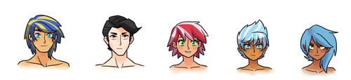 Next Gen Humanized Headshots 2 by kianamai