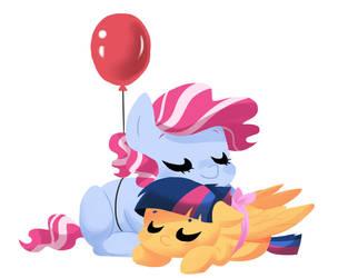 The Balloon and the Ribbon by kianamai