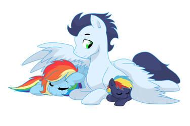 Family Cuddles by kianamai