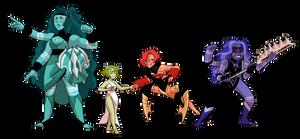 Larimar Fusions by kianamai