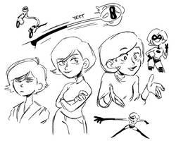 mommy doodles by kianamai