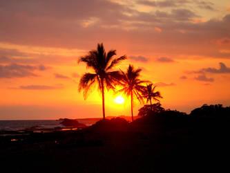 Hawaiian Sunset by 0liveJuice