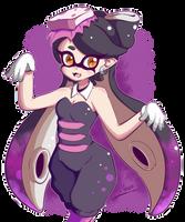Splatoon - Callie [Colored] by Nocstella