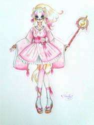 +Zoo-Town+ The Bubbly Moon Sorceress by Kuroi-P